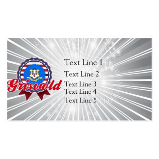 Griswold, CT Pack Of Standard Business Cards