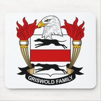 Griswold Family Crest Mouse Pad
