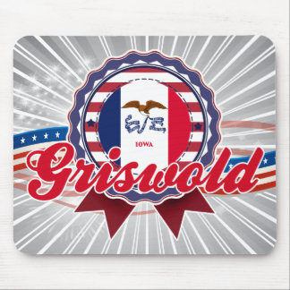 Griswold, IA Mouse Pad