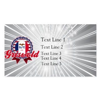 Griswold, IA Pack Of Standard Business Cards