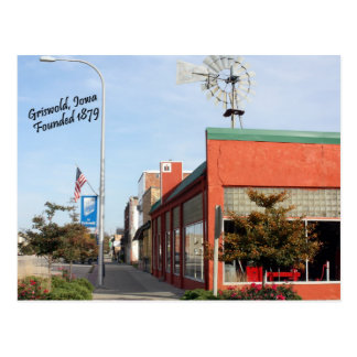 Griswold, Iowa Windmill Postcard