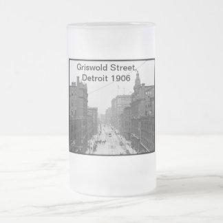Griswold street Detroit 1906 Frosty Mug