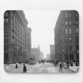 Griswold Street, Detroit: 1906 Mouse Pad