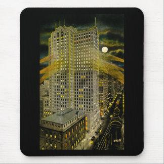 Griswold Street Detroit, Detroit Michigan Vintage Mouse Pad