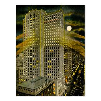 Griswold Street Detroit, Detroit Michigan Vintage Postcard