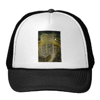 Griswold Street Detroit, Detroit Michigan Vintage Trucker Hat