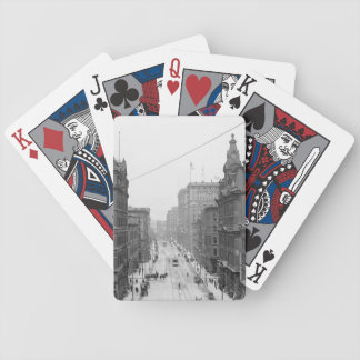 Griswold Street, Detroit Michigan Playing Card1906 Playing Cards