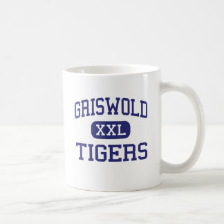 Griswold - Tigers - High School - Griswold Iowa Basic White Mug