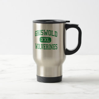Griswold - Wolverines - High - Griswold Stainless Steel Travel Mug