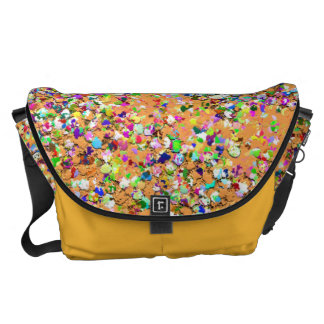 Grit Glitter Fashion Multicolor Painting #2 Courier Bag