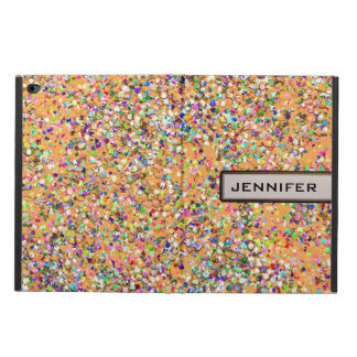 Grit Glitter Fashion Multicolor Painting #2 Powis iPad Air 2 Case