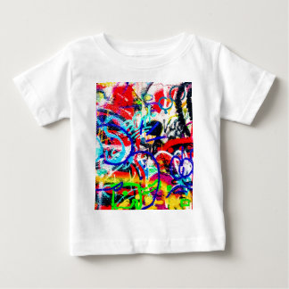 Gritty Crazy Graffiti Baby T-Shirt