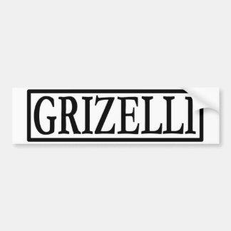Griz bumper image bumper sticker