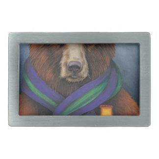 Grizzley Bear Belt Buckle