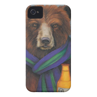 Grizzley Bear iPhone 4 Cover