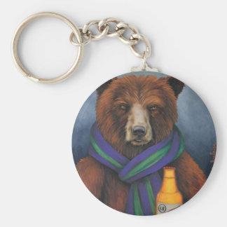 Grizzley Bear Keychain