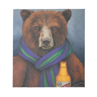 Grizzley Bear Notepad