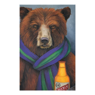 Grizzley Bear Stationery