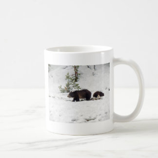 Grizzlies in the Snow Coffee Mug