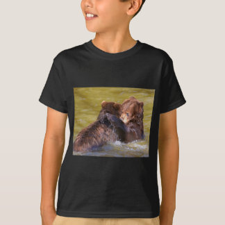 Grizzlies in the water T-Shirt