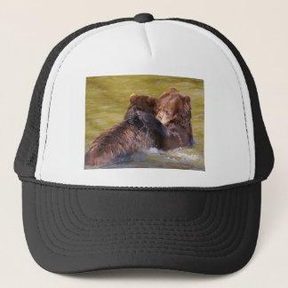 Grizzlies in the water trucker hat