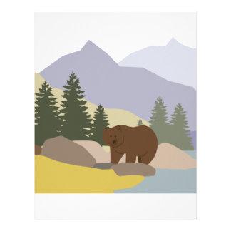 Grizzly Alaska Customized Letterhead