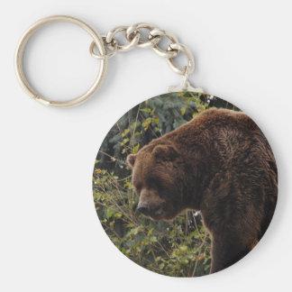 grizzly-bear-009 keychain