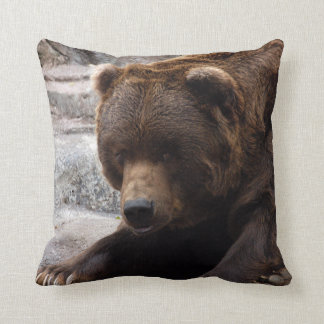 grizzly-bear-016 throw pillow