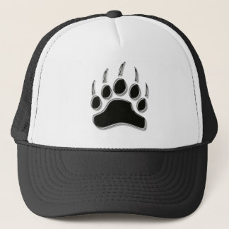 Grizzly Bear Claw Trucker Hat