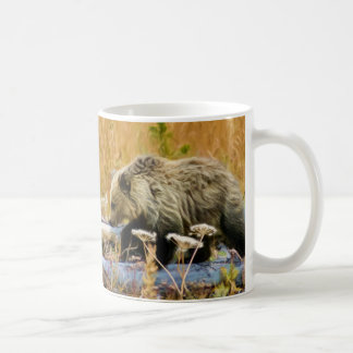 Grizzly Bear Cub Coffee Mug