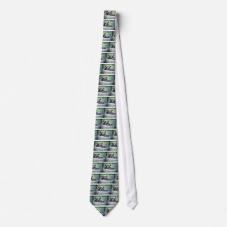 Grizzly Bear Design Tie