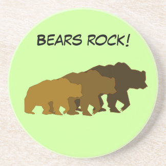 Grizzly Bear Family Coaster