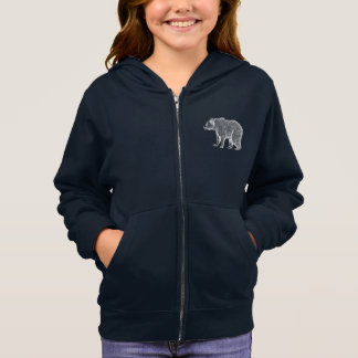 Grizzly Bear Girls Hoodie