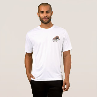 Grizzly bear in water shirt