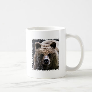Grizzly Bear Logo Coffee Mug