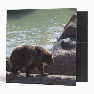 Grizzly Bear Notebook Binder