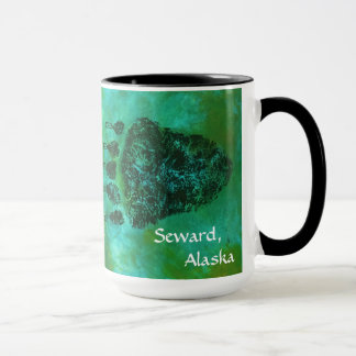 Grizzly Bear Paws, Seward, Alaska - Mug