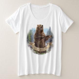 Grizzly Bear Plus-Size T-Shirt
