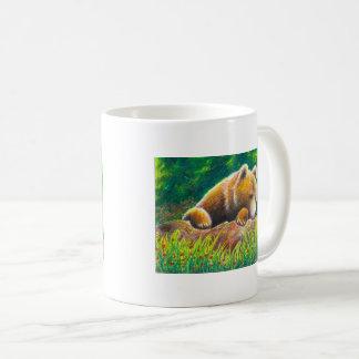 Grizzly Bear wildlife art Coffee Mug
