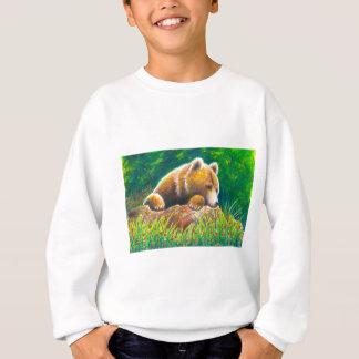 Grizzly Bear wildlife art Sweatshirt