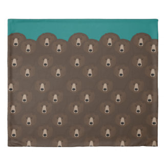 Grizzly Bears King Size Duvet