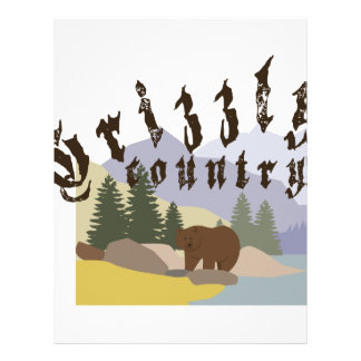 Grizzly Country Letterhead Template