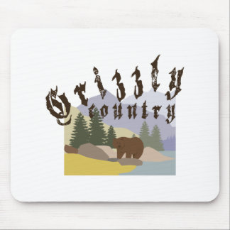 Grizzly Country Mouse Pad
