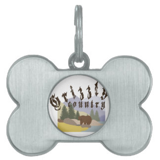 Grizzly Country Pet ID Tags