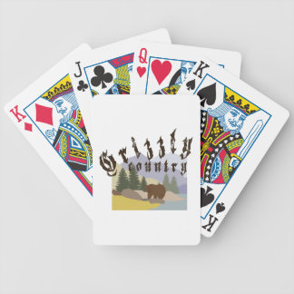 Grizzly Country Poker Deck