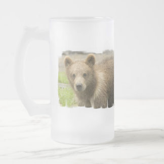 Grizzly Cub Frosted Mug