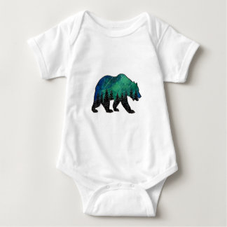 Grizzly Domain Baby Bodysuit