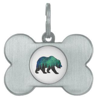 Grizzly Domain Pet Name Tag