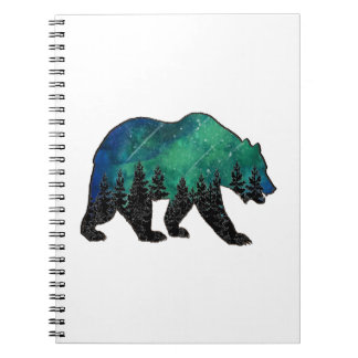 Grizzly Domain Spiral Notebook