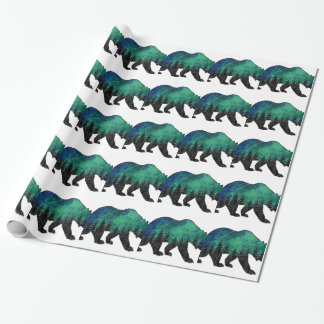 Grizzly Domain Wrapping Paper